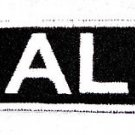 AL Name Tag Patch Iron or sew on for Shirt Jacket Vest New BIKER Patches