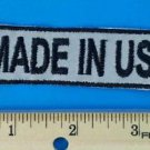 MADE IN THE USA SMALL REFLECTIVE  FUN  NEW Club Motorcycle Biker Patch PAT-3255