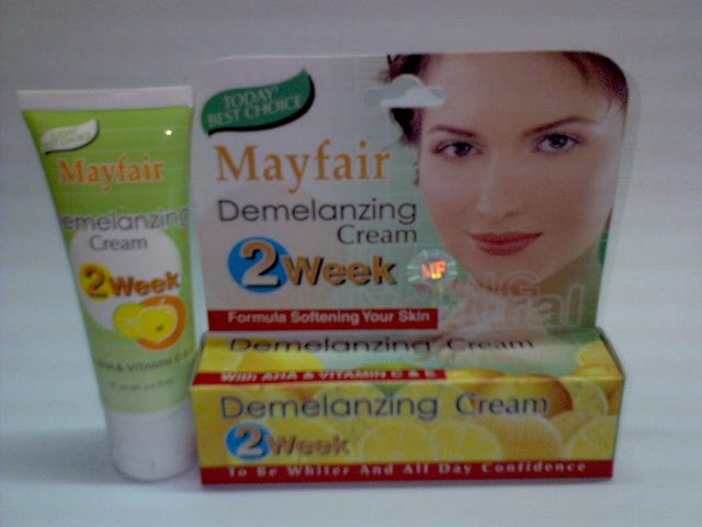 Mayfair Face Bleaching Cream ~*Softening & Lightening Skin in 2 weeks*~ (2 tubes) FREE SHIPPING