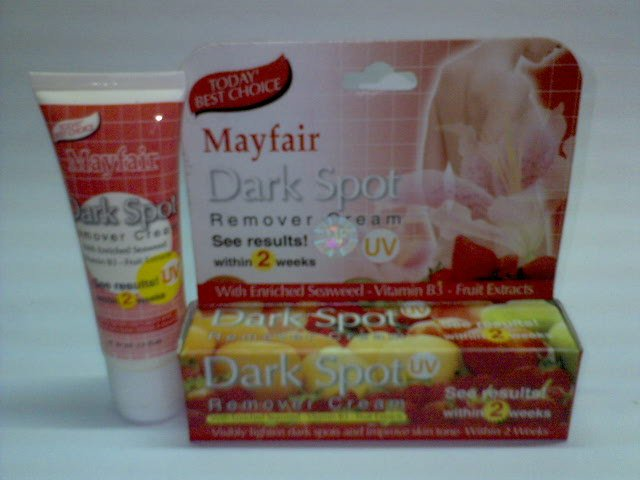 Mayfair Dark Spot Remover Cream ~*See Results! within 2 weeks*~ (2 tubes) FREE SHIPPING