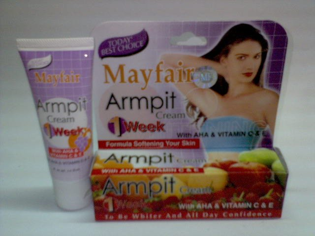 Mayfair Armpit Cream ~*Lighter Skin whithin 1 week*~ (2 tubes) FREE SHIPPING