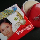 LOT of 3 pcs YOKO Herbal Formula Whitening Cream (Ginseng & Pearls) 4g FREE SHIPPING