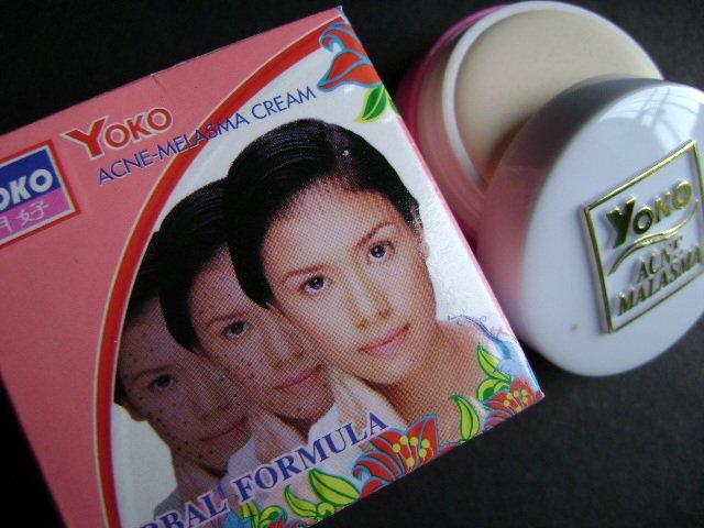 LOT of 3 pcs YOKO Acne - Melasma Cream (Herbal Formula) 4g FREE SHIPPING