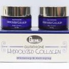 2 boxes GEMLI Glutathione Hydrolyzed Collagen Whitening & Anti-Aging Day and Night Cream