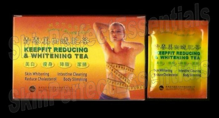 3 boxes Keepfit Reducing & Whitening Tea ~ 30 tea bags FREE SHIPPING