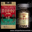 6 bottles Korean Red Ginseng Powder Capsule x100 capsules