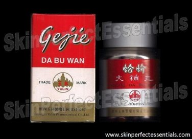 6 bottles Gejie Da Bu Wan x 50 tablets FREE SHIPPING