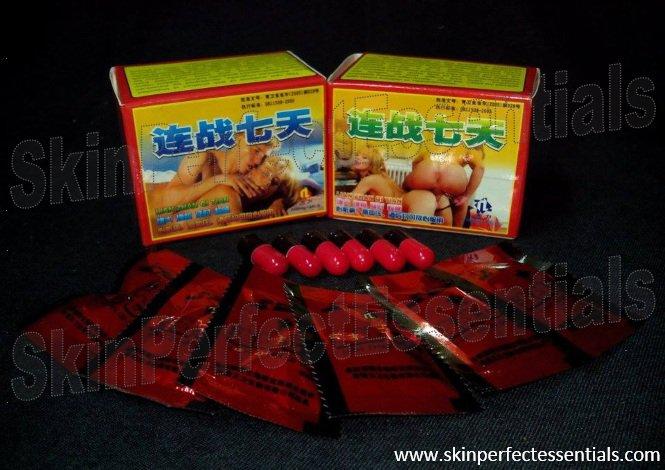 6 boxes LIAN ZHAN QI TIAN 2500mg x 6 capsules (Increased Libido / heightened orgasms) FREE SHIPPING