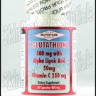 2 bottles Best Nutrition L-Glutathione USA 800mg x 60 capsules FREE SHIPPING