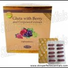 2 boxes Skinista Gluta with Berry and Grapeseed Extract Glutathione x 30 softgels FREE SHIPPING