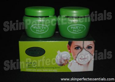 3 boxes PAN YU 7-day Whitening Speckle - Removing Series (Green Box) 2 tubs x 20g FREE SHIPPING