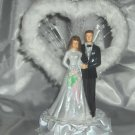 Faux Fur Wedding Cake Topper - HP3725