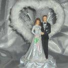 Faux Fur Wedding Cake Topper - HP3725