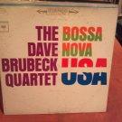 DAVE BRUBECK Bossa Nova U.S.A. LP VG+/VG+