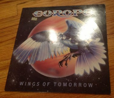Europe Wings Of Tomorrow Holland Import 1984 Epic Lp