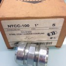 "Old-Stock, Sepco NTCC-100 Compression Coupling 1"" Conduit"
