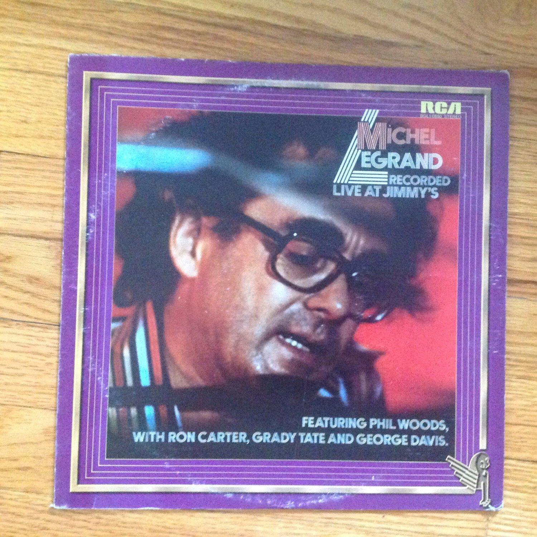 Michel Legrand �� Recorded Live At Jimmy's vinyl album LP