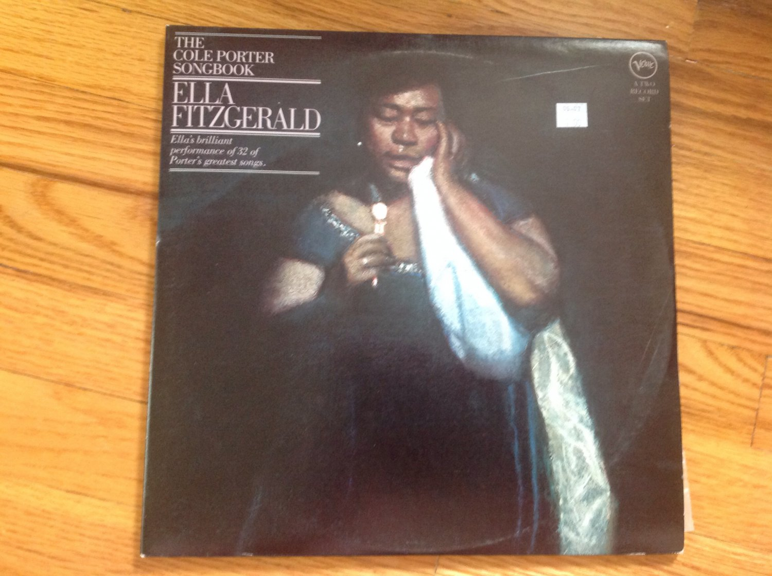 ELLA FITZGERALD: The Cole Porter Songbook 2 LPs, gatefold cover, reissue, looks unplayed
