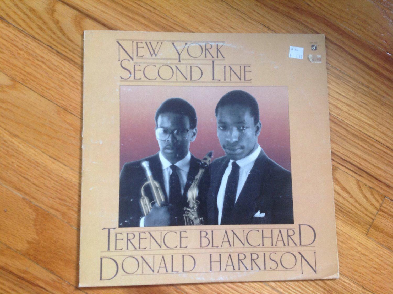 TERENCE BLANCHARD / DONALD HARRISON: NEW YORK SECOND LINE LP 1983 GW 3002 USA Vinyl album