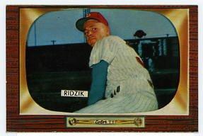 Steve Ridzik '55 Bowman #111
