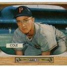 Dick Cole '55 Bowman #28