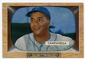 Roy Campanella 1955 Bowman #22
