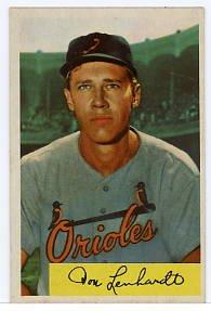 Don Lenhardt 1954 Bowman #53