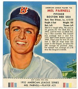 Parnell '53 Red Man#25