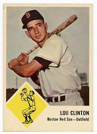 Lou Clinton 1963 Fleer #6