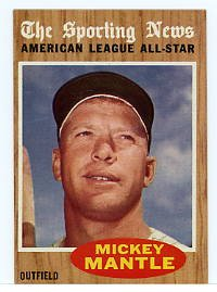 Mickey Mantle All-Star 1962 Topps #471