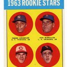 Pete Rose 1963 Topps #537 RC