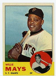 Willie Mays 1963 Topps #300