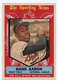 Hank Aaron All Star 1959 Topps #561