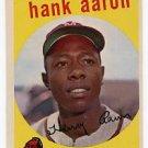 Hank Aaron 1959 Topps #380