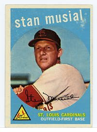 Stan Musial 1959 Topps #150