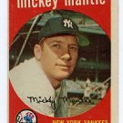 Mickey Mantle 1959 Topps #10