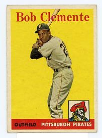 Bob Clemente 1958 Topps #52