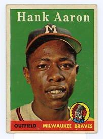 Hank Aaron 1958 Topps #30