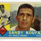Sandy Koufax 1960 Topps #343