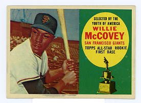 Willie McCoveyRC 1960 Topps #316