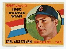 Carl Yastrzemski RC 1960 Topps #148