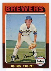 Robin Yount RC 1975 Topps #223