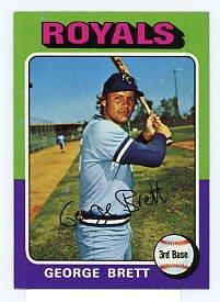 George Brett RC 1975 Topps #238