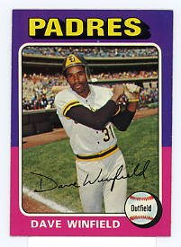 Dave Winfield 1975 Topps #61