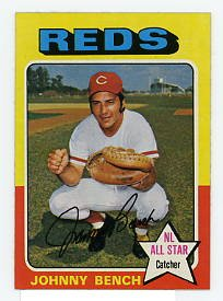 Johnny Bench 1975 Topps #260