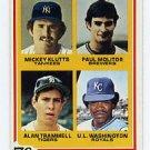 Paul Molitor / Alan Trammel RC 1978 Topps #707