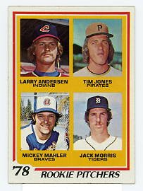 Jack Morris RC 1978 Topps #703