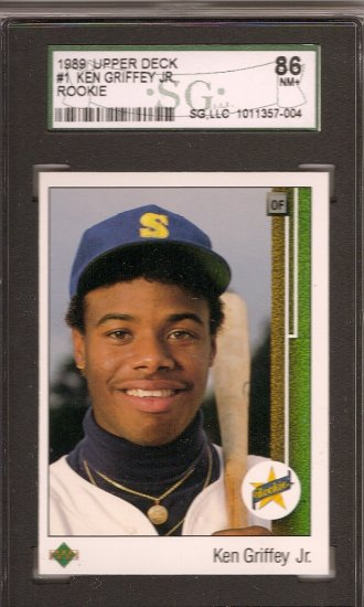 Ken Griffey RC 1989 Upper Deck #1