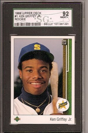 Ken Griffey RC Upper Deck #1