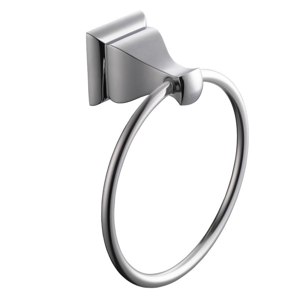 Glacier Bay Milner Towel Ring in Chrome Model #20120-0501